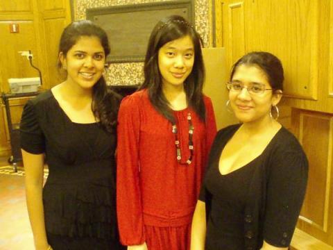 Farrah, Connie and Lianna